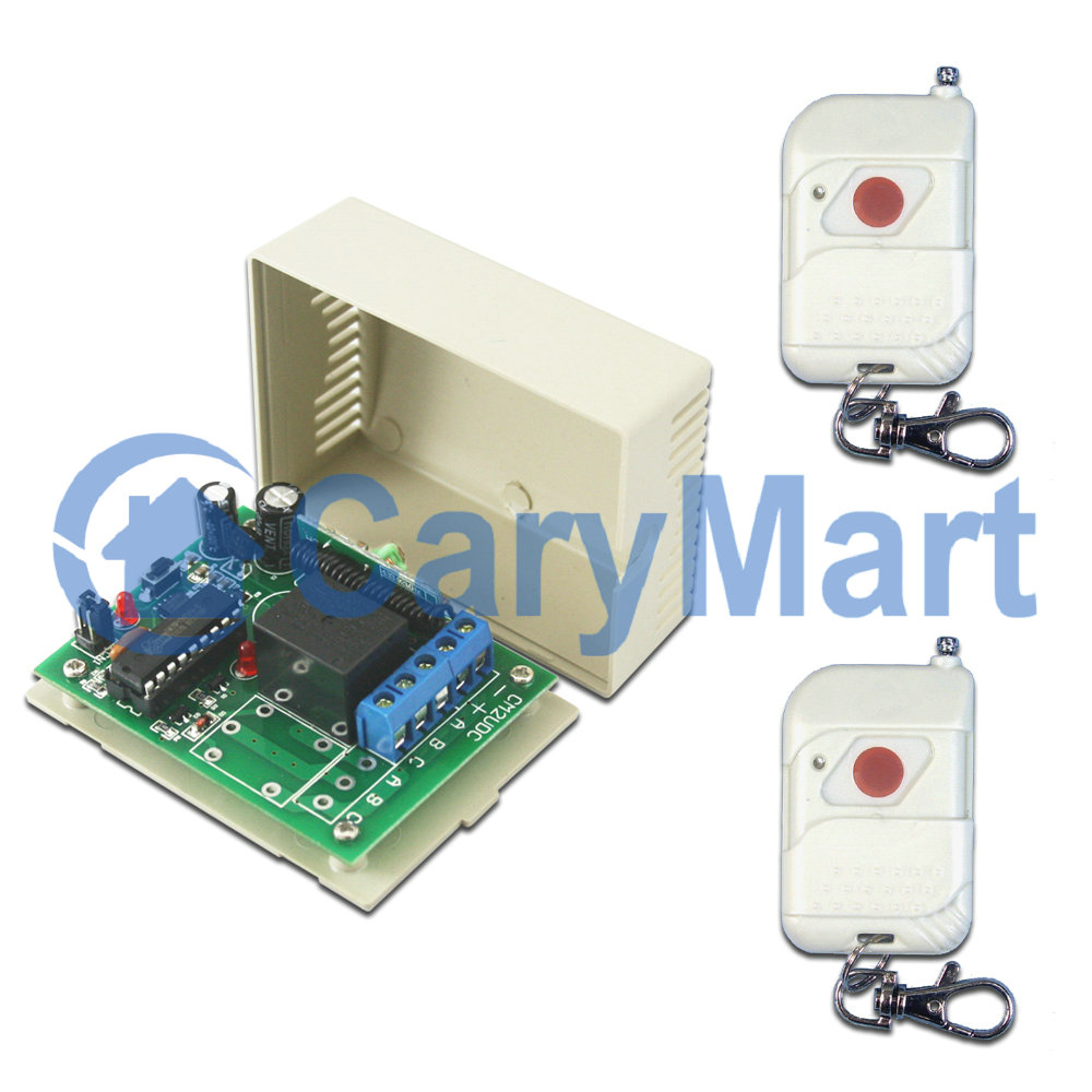 Dc 24v Rf Remote Control Solenoids And Linear Actuators Carymart