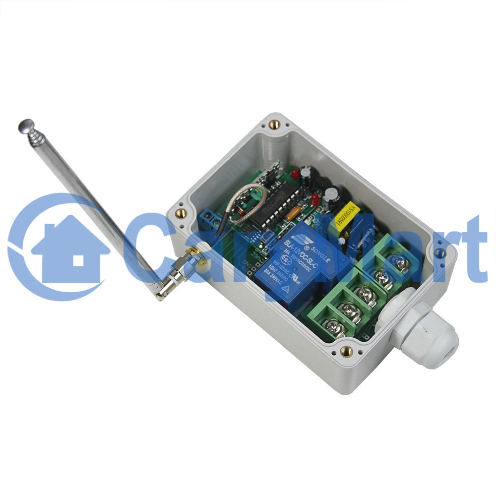 Long Distance RF Remote Receiver Circuit AC100 ~240V 30A