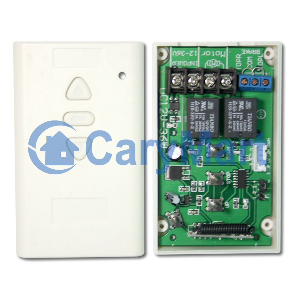 12v 24v Dc Motor Momentary Remote Control Rf Receiver 0020335 S1fm Limit Switch Wiring Diagram Olt Package Include